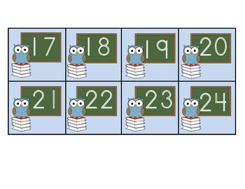 August Calendar Squares
