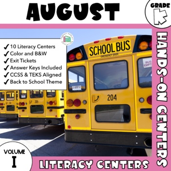 August Centers -- Kindergarten ELA ONLY