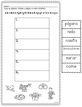 August Centers in Spanish