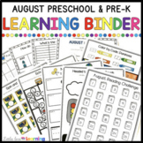 August Circle Time Printables - Preschool and Pre-K Learni