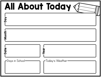 AUGUST CALENDAR AND CIRCLE TIME RESOURCES