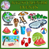 August Clipart - Celebrate Events