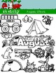August Clipart / Graphics and Monthly Header