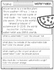 August Comprehension Passages