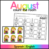 August Count the Room - Spanish & English