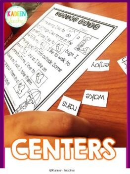 August Cut and Paste Fluency Passages
