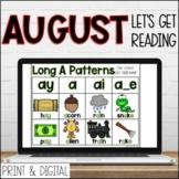 August DIGITAL Lets Get Reading 2nd Grade Reading Activiti