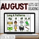 August DIGITAL Lets Get Reading 2nd Grade Reading Activiti