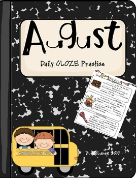 August Daily CLOZE Practice