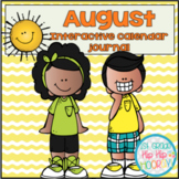 August Daily Calendar/Weather Activities...Math Review and