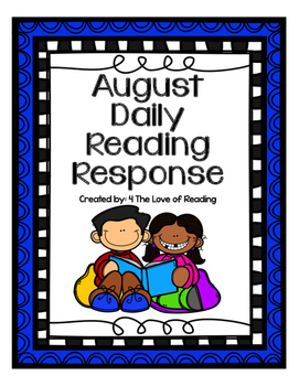 August Daily Reading Response
