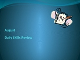 August Daily Skills Review Week 2