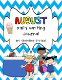 August Daily Writing Journal