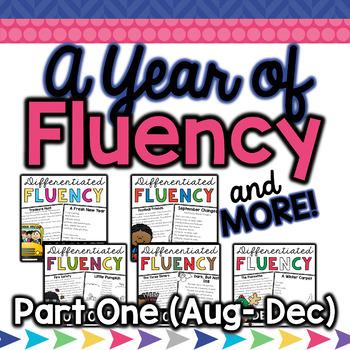 August- December Fluency & More Bundle!