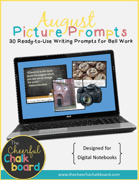 August Digital Picture Prompts