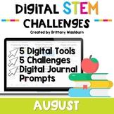August Digital STEM Challenges™
