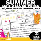 August ELA and Math Activities