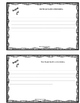 August Editable Writing Calendar and Booklet
