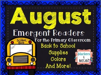 August Emergent Readers