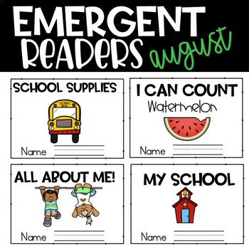 August Emergent Readers