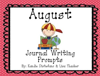 August Everyday Writing Journals PowerPoint