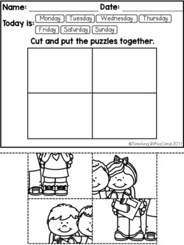 August-September Fine Motor Skill and Handwriting Practice