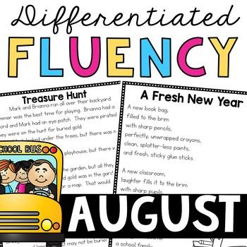 Fluency Passages (August)