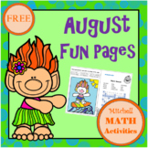 August Fun Pages