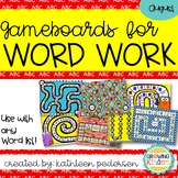 August Game Boards for ANY Word List!