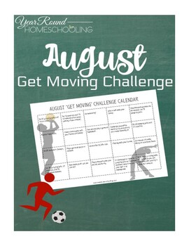 August Get Moving Challenge
