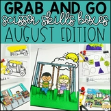 August Grab and Go Scissor Skills Activities