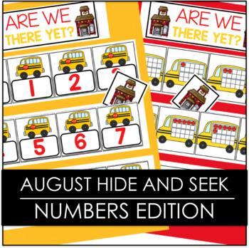 August Hide and Seek - Numbers Edition