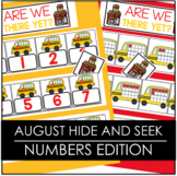August Hide and Seek - Numbers Edition