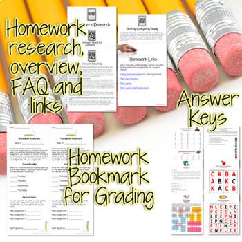 Third Grade Homework August {20 NO PREP Printables & Editable Homework Menu}