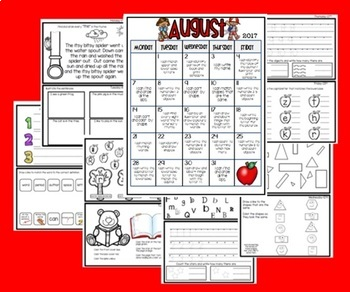 August Homework Packet