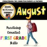 August Homework Packet: 1st Grade