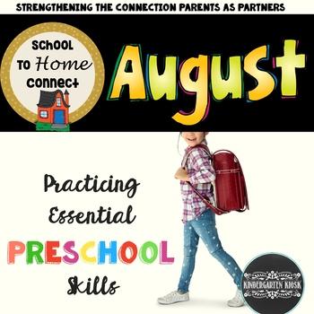 School To Home Connect Preschool Homework August
