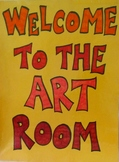 August In The Art Room: Getting Ready for the New School Year