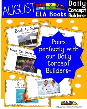 August Interactive Book and Song Bundle