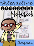 August Interactive Language Notebook