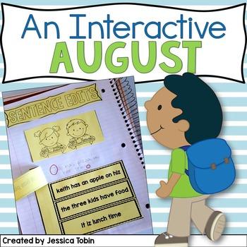 August Interactive Notebook