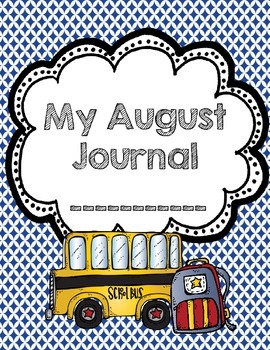 My August Journal