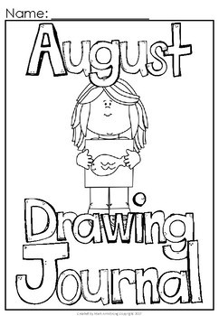 August Build a Sentence Journal for Young Writers