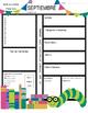 August - June Classroom Newsletter Template: Spanish