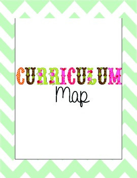 August-June Curriculum Map Lesson Plan Template