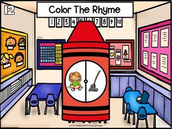 August Kindergarten Digital And Print Literacy Task Cards For GOOGLE CLASSROOM
