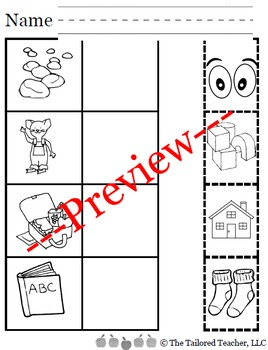 August Kindergarten Reading Adventure (Bundled)