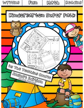 August Kindergarten Super Pack!