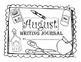August Kindergarten Writing Prompts and Journal Pages (Com