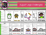 August Lego Challenges